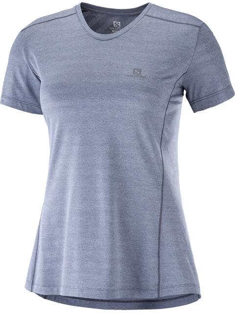 Salomon XA - Camiseta Running Mujer - gris